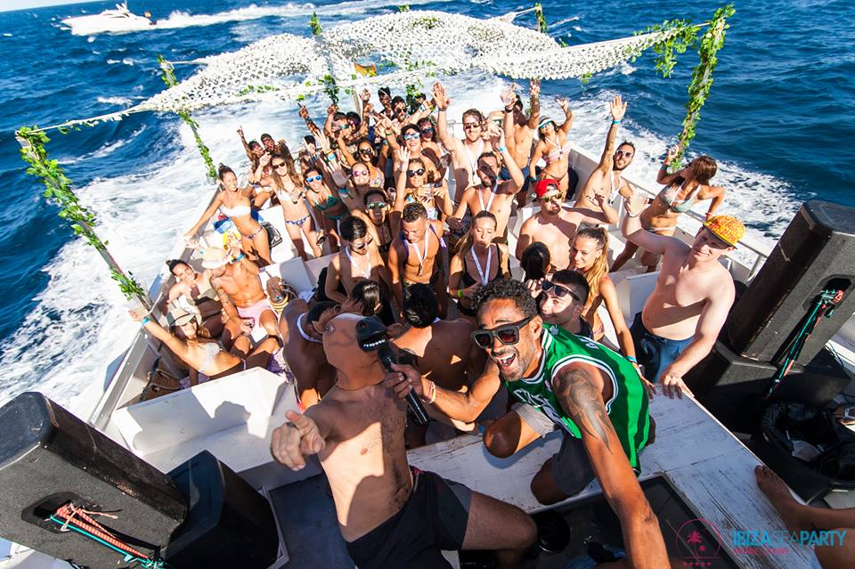 Ibiza Sea Party Boat
