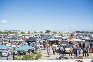 Car boot market Mercadillo Sant Jordi Ibiza