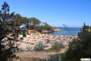 San Antonio Beach Cala Gracio