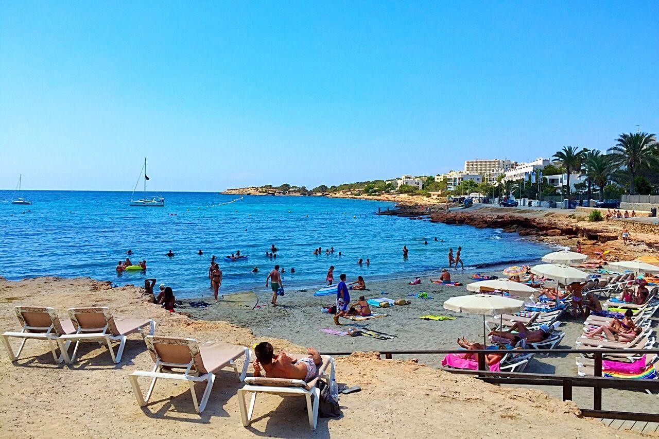 Calo des Moro beach San Antonio Ibiza