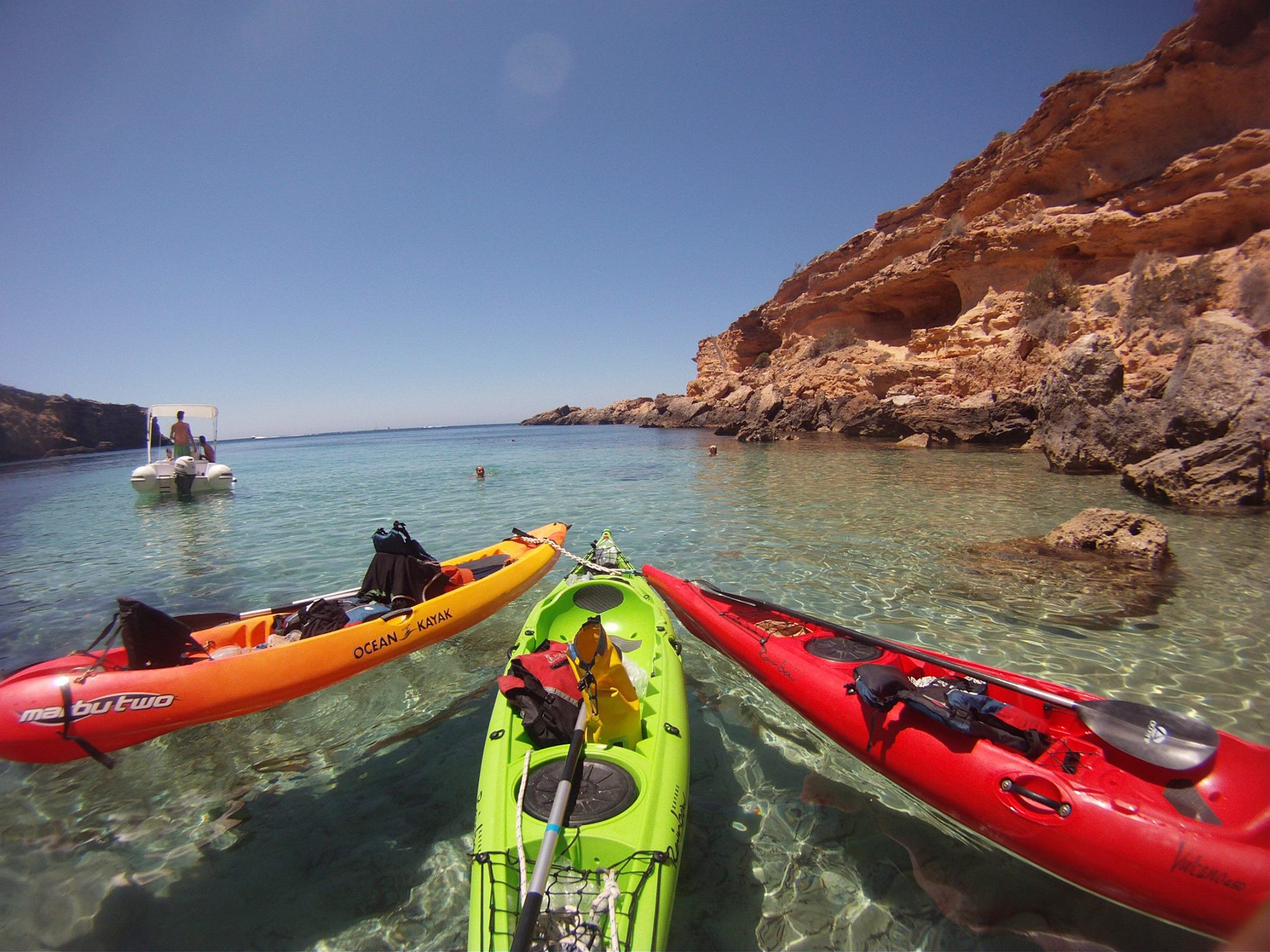 Fun Kayaks Ibiza guide tours