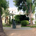 Ibiza Old Town Eivissa Dalt Vila - Isidor Macabich Statue